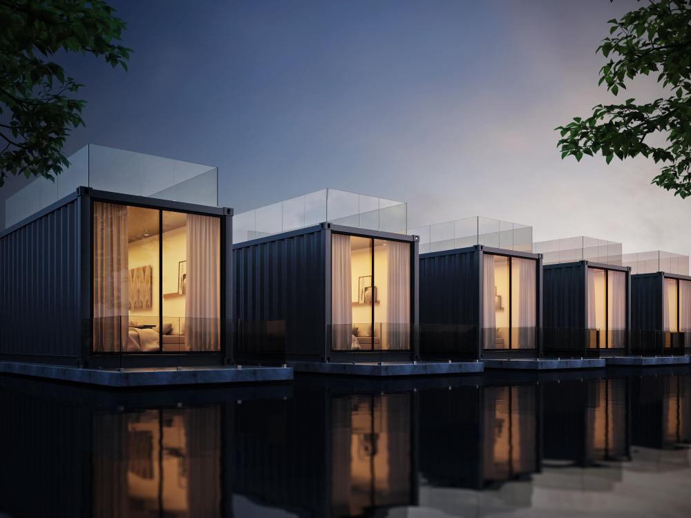 Containerwoning biedt vrijheid