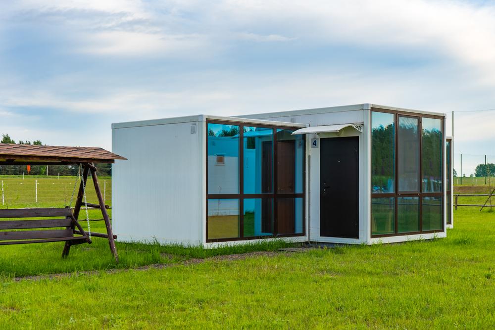 Bijgebouw met modulaire bouw